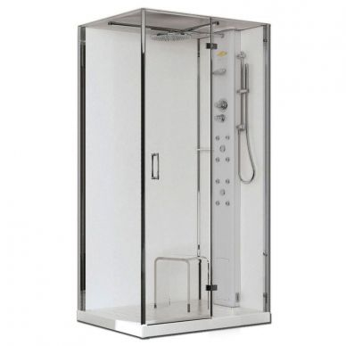 Душевая кабина Jacuzzi Play 120 TB DX (9547-216A) (120х80) 0