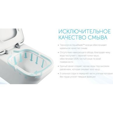 Унитаз напольный Ideal Standard Connect AquaBlade (E042901) 9
