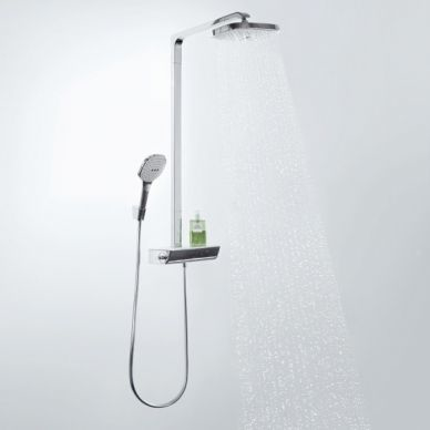 Душевая система Hansgrohe Raindance Select Showerpipe E300 2jet (27128400) 7